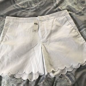 Banana Republic white shorts size 6 new with tags